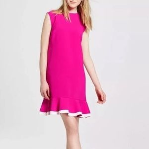 Victoria Beckham For Target Pink Shift Dress
